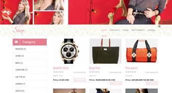 beautiful shop template joomla