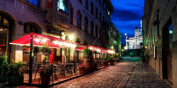 street midnight